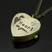 "Mini montre clapet coeur ""Heart to you"""