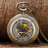 "Montre gousset ""Hunger Games"""