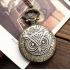 Mini montre gousset bronze hibou