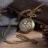"""Montre gousset """"U.S.S. Constitution"""" bronze"""