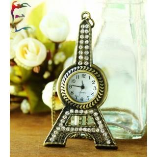 Montre collier Eiffel Tower