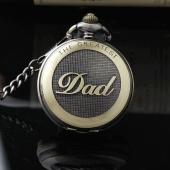 "Montre gousset ""The Greatest DAD"" bronze"