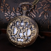 Montre gousset DAD bronze