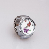 "Montre bague ""Flower"""