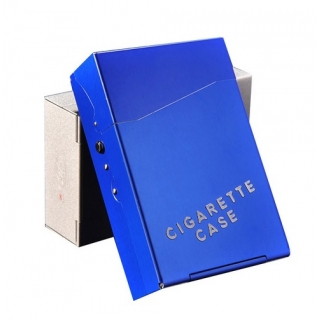 Etui CIGARETTE CASE bleu