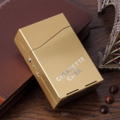 Etui CIGARETTE CASE rouge