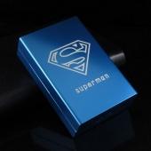 Etui à cigarettes SUPERMAN noir