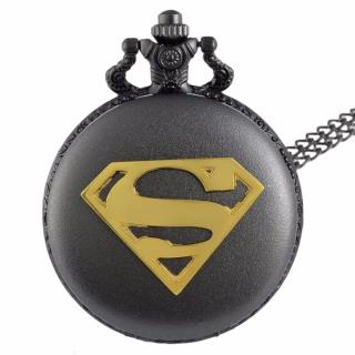 Montre gousset Superman black