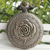 Montre gousset bronze rose medium