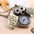 Montre collier hibou