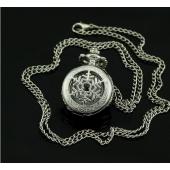 Mini montre clapet argent étoile des neiges