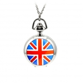 "Mini montre gousset ""Union Jack"""